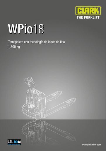 003 SpecSheet CLARK WPio18 ES 4583101