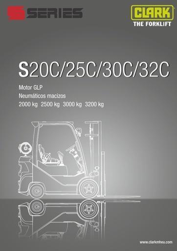 043 SpecSheet CLARK S20C 25C 30C 32C ES 4581176